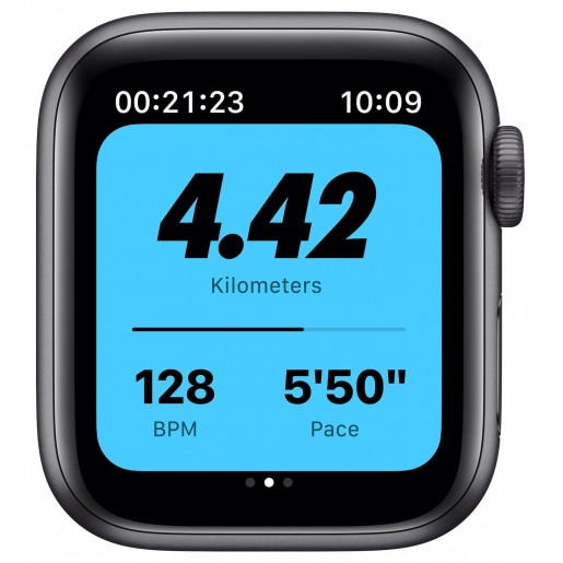 Apple Watch Series 6 GPS 40mm Space Gray Aluminium Case with Anthracite/Black Nike Sport Band (M00X3)
