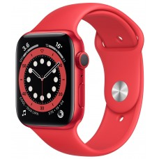 Apple Watch Series 6 GPS 40mm Product Red Aluminium Case with Red Sport Band (M00A3)